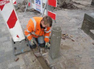 Repareren  straatwerk