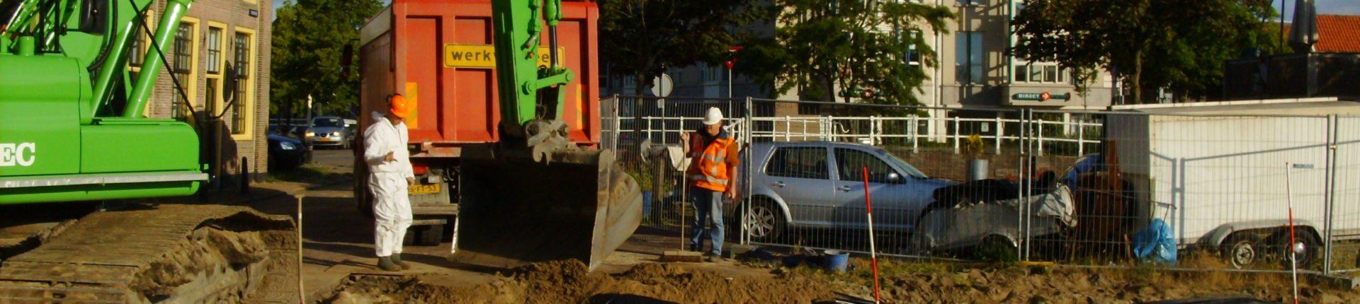 Werken in en met vervuilde grond